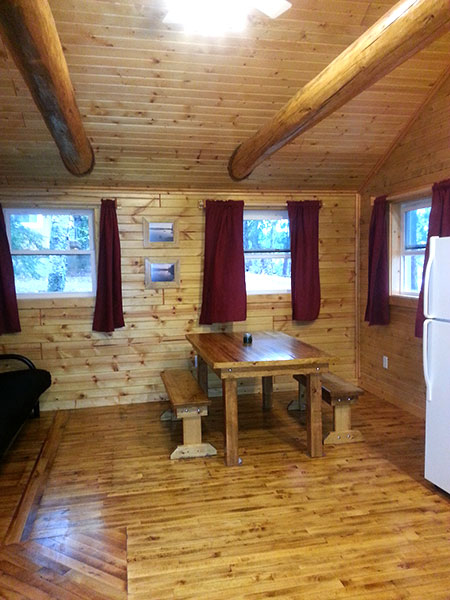 Peninsula Pines Resort Cabin 6 Details Pictures