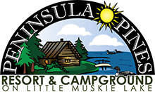 Peninsula Pines Resort & Campground on Little Muskie Lake